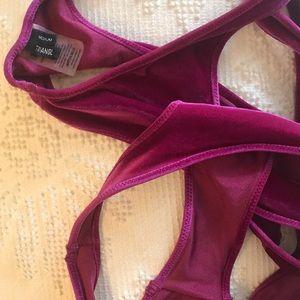 triangl swimwear Swim - {triangl} mimi velvet set
